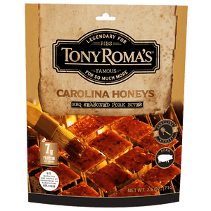 Tony Roma's Carolina Honeys BBQ Pork Jerky Bites