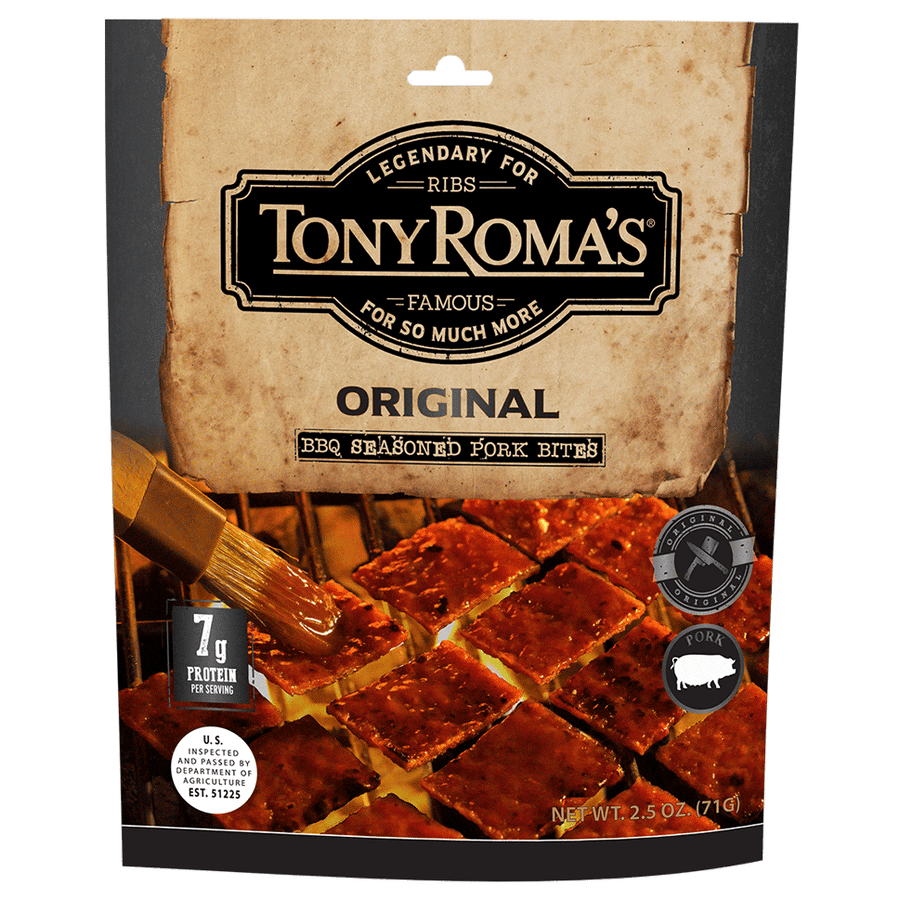 Tony Roma's Original BBQ Seasoned Pork Bites