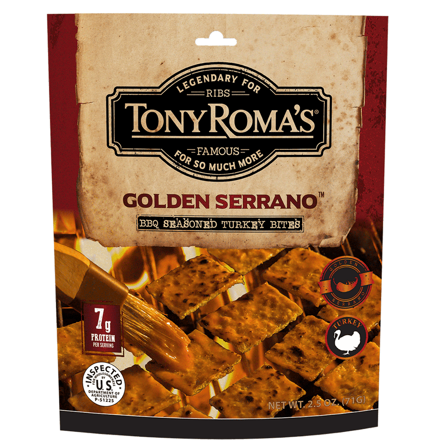 Tony Roma's Golden Serrano BBQ Seasoned Turkey Bites
