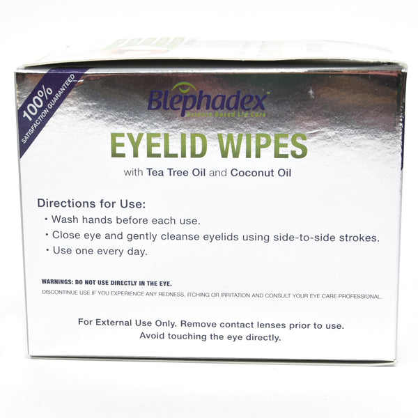 Blephadex Eyelid Wipes (30 Individually Wrapped Wipes)