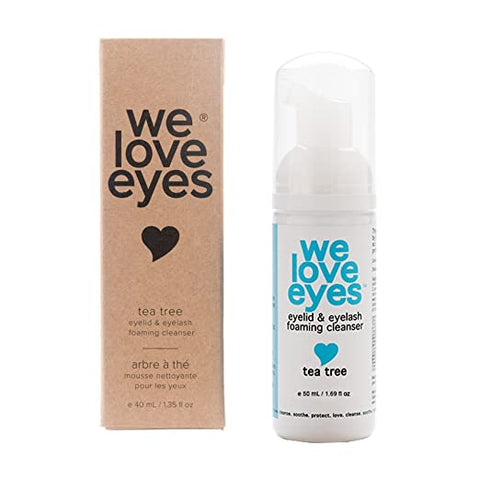 We Love Eyes - Tea Tree Eyelid Foaming Cleanser