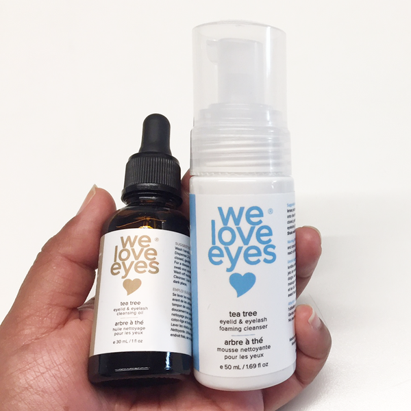 We Love Eyes - Tea Tree Eyelid Cleansing Oil