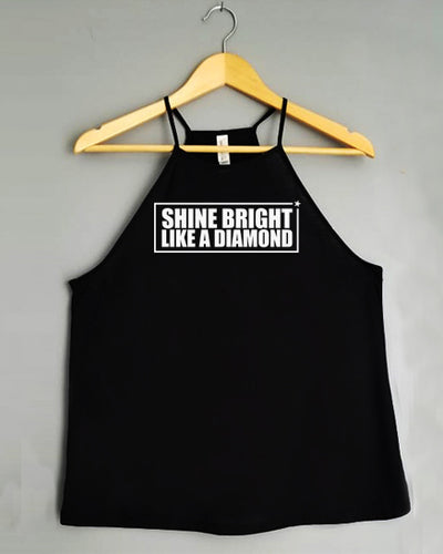 Flowy Tank Top - SHINE BRIGHT LIKE A DIAMOND