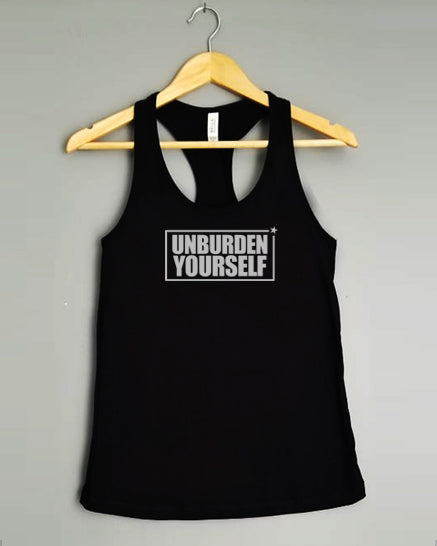 Racerback Tank Top - UNBURDEN YOURSELF