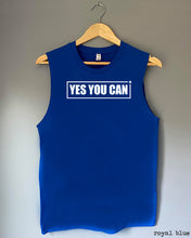 Load image into Gallery viewer, Tank Top - YES YOU CAN