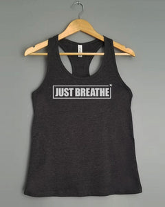 Racerback Tank Top - JUST BREATHE