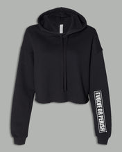 Load image into Gallery viewer, Cropped Top Hoodie - EVOLVE OR PERISH