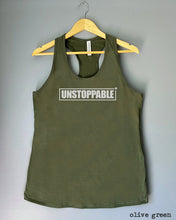 Load image into Gallery viewer, Racerback Tank Top - UNSTOPPABLE