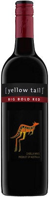 YELLOW TAIL BIG BOLD RED