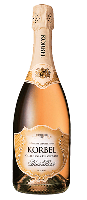Korbel - Brut Rose California Champagne NV