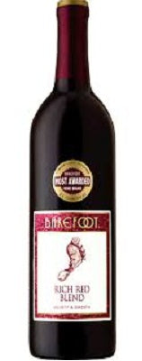 BAREFOOT RICH RED BLEND 750