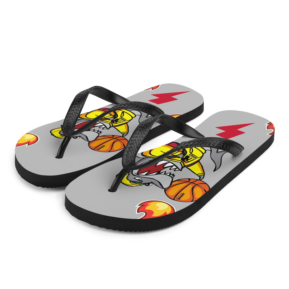 Game Day Turbo Flip-Flops