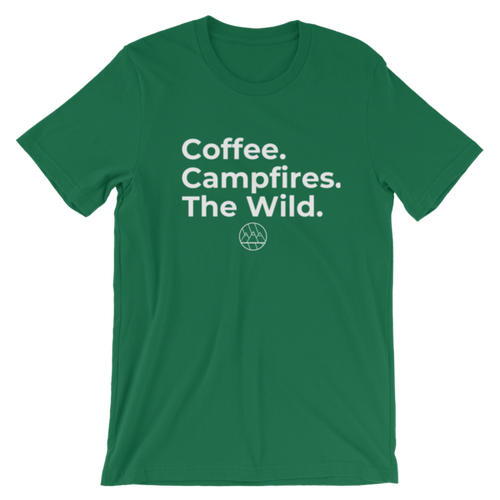 Coffee. Campfires. The Wild T-Shirt