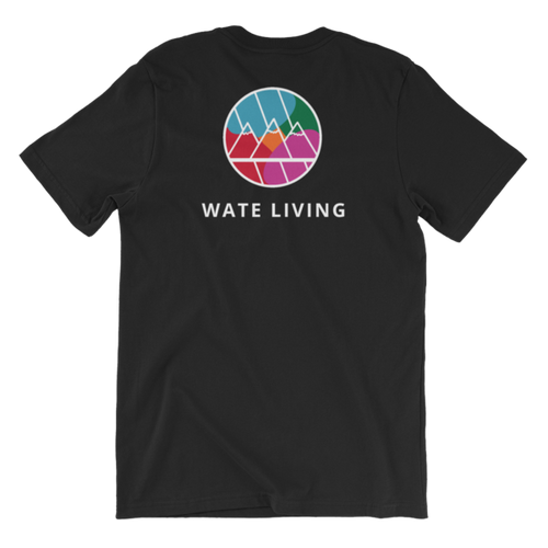WATE LIVING Black T-Shirt