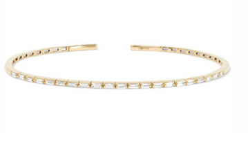 18K YELLOW GOLD BANGLE GOLD:4.5 DIA:0.6