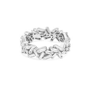 18K WHITE GOLD SMALL SPARKLER ETERNITY BAND
