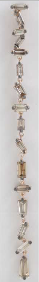 **One Of A Kind ** 18k Rose Gold: 6.2g  Dangling Dia:3.5ct