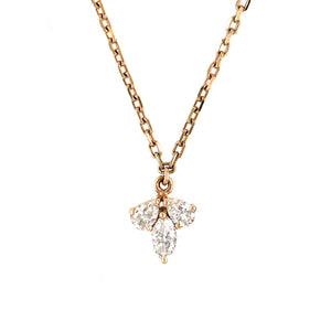 Everyday Sparkle 18K Rose Gold with Diamonds Necklace