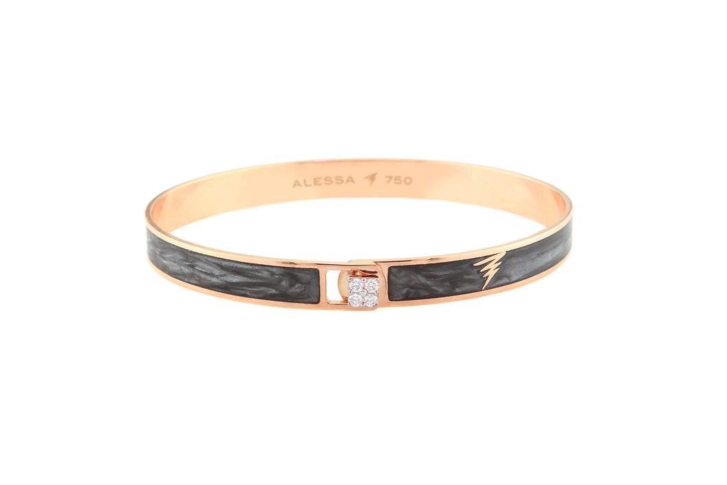 18k Rose Gold Pectrum Bracelet 11.99g
