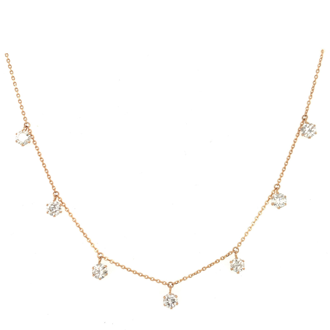 Everyday Sparkle Yellow Gold with Diamonds Necklace