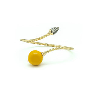 Yellow Bonbon Bracelet