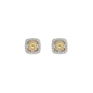 Everyday Sparkle 18 K Gold And Diamonds Earrings