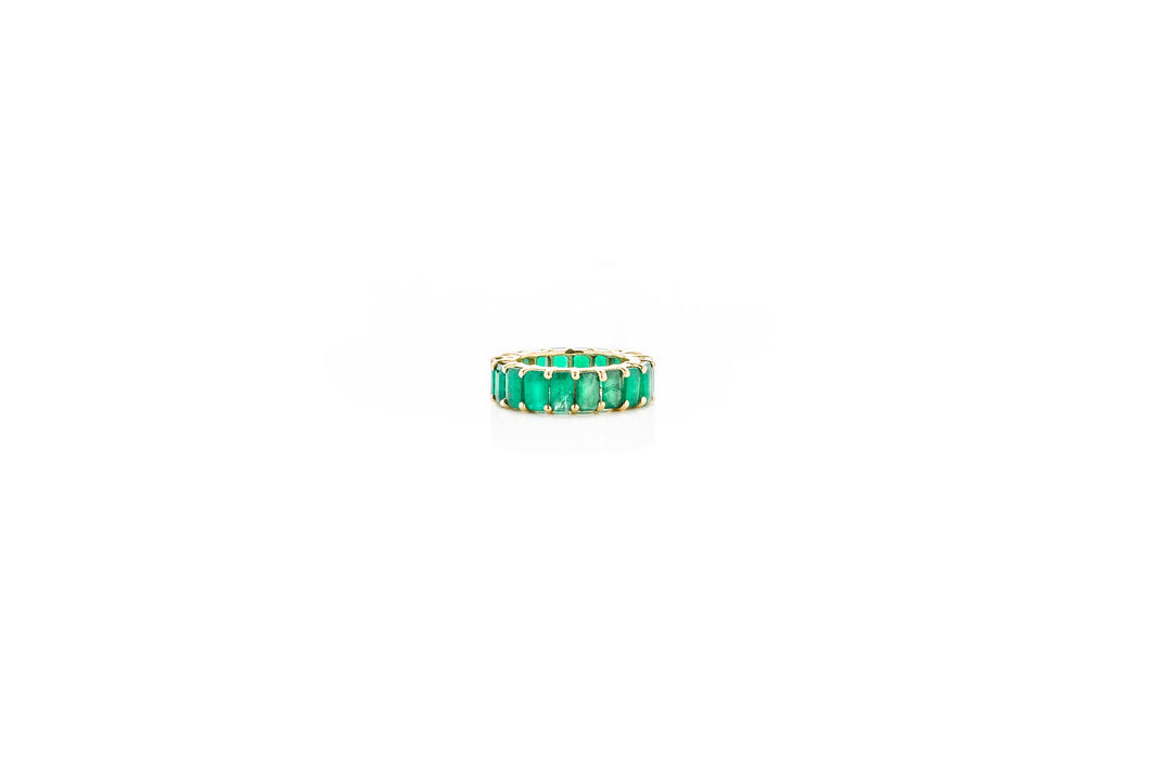 MEDIUM EMERALD ETERNITY BAND (RING)
