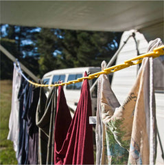 ezyline camping clothesline, for caravans too