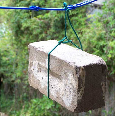 ezyline clothesline can hold heavy items