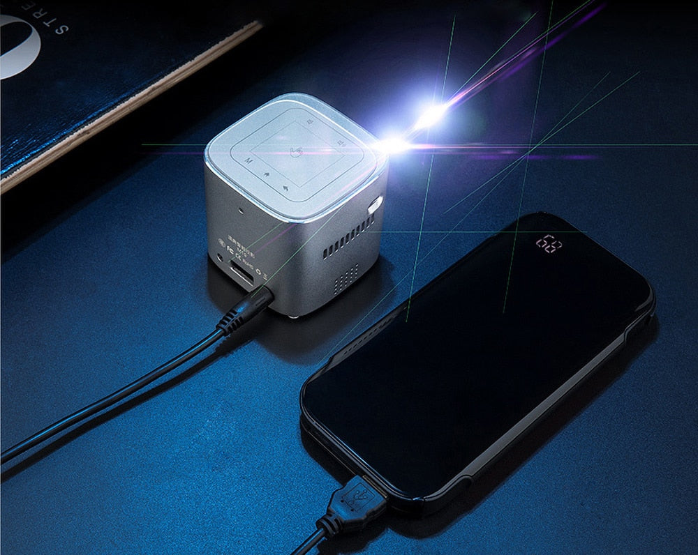DREAM CINEMA: World's Most Advance 1080p Pocket Projector