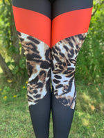 Cheetah Colorblock Leggings