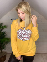 Leopard Pumpkin Sweater