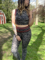 Grey Tiger Highwaist Leggings