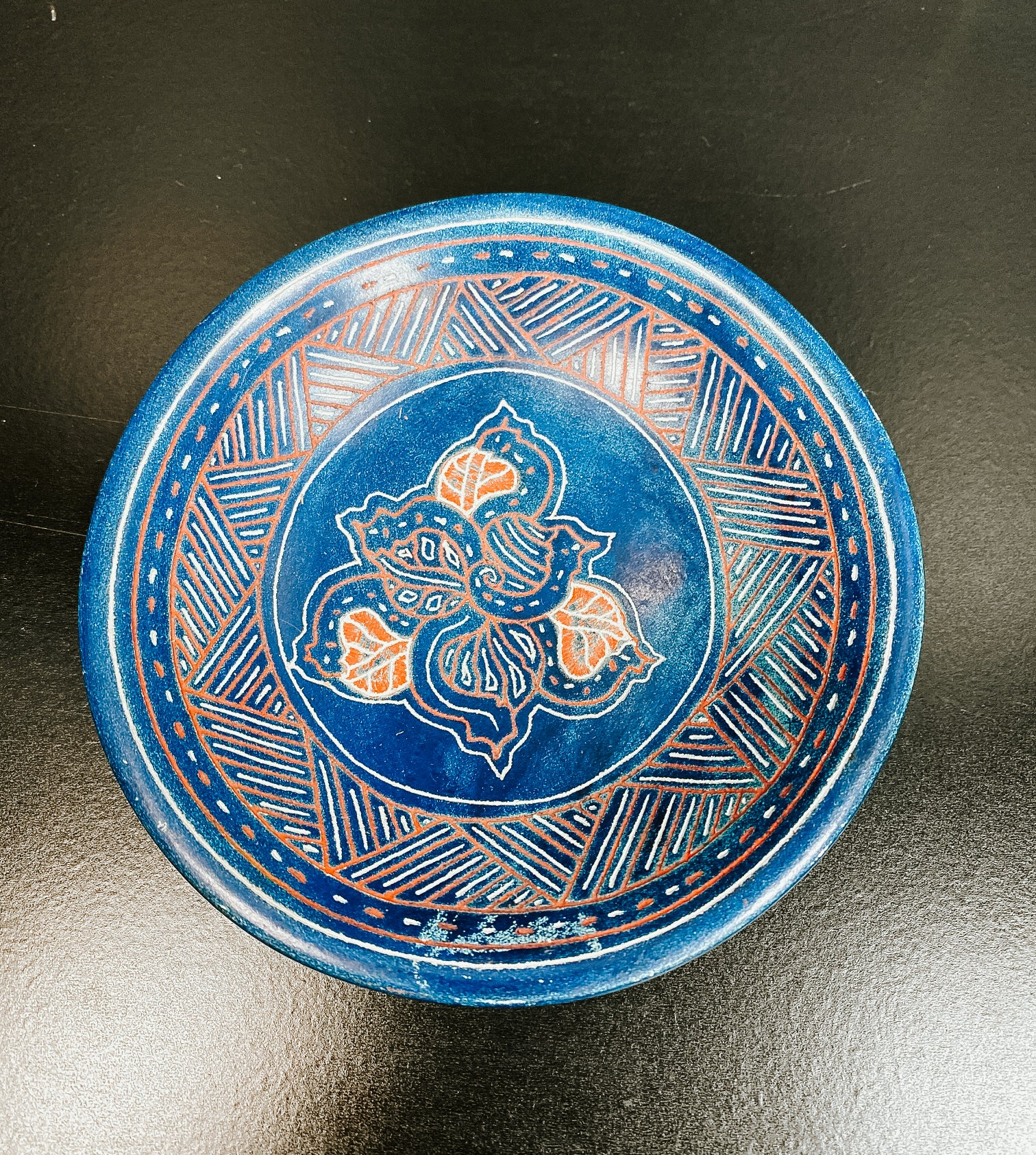 Haitian Made Ceramic Dish