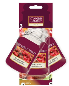 YANKEE CAR JAR 3PACK - Black Cherry
