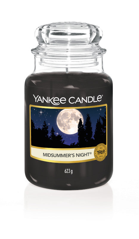 YANKEE CLASSIC LARGE JAR - Midsummer's Night