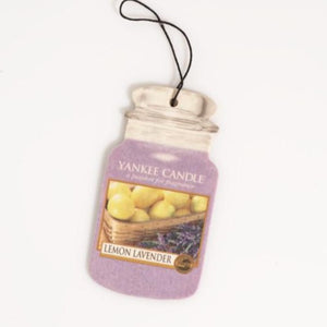 YANKEE CAR JAR 3PACK - Lemon Lavender