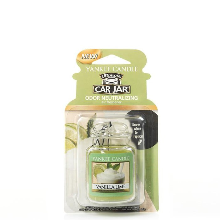 YANKEE CAR JAR ULTIMATE - Vanilla Lime