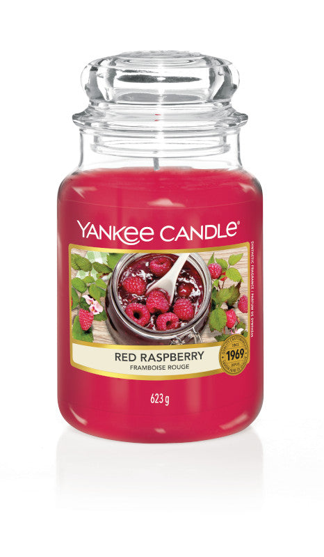 YANKEE CLASSIC JAR LARGE - Red Raspberry