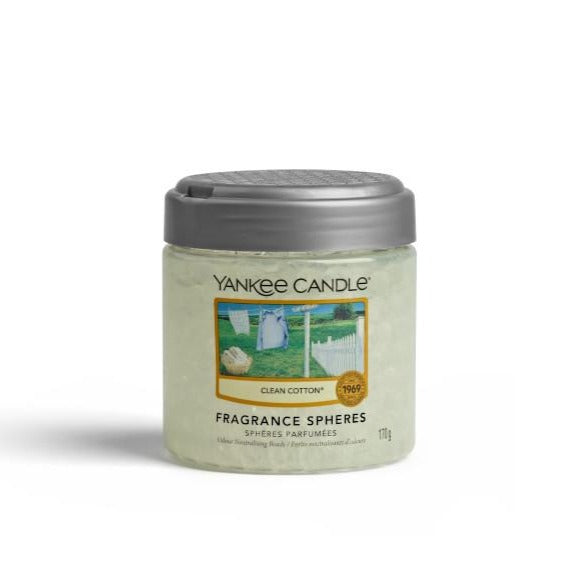 YANKEE FRAGRANCE SPHERES - Clean Cotton