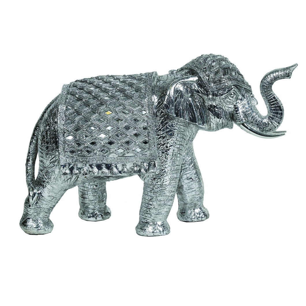 Decorative  Silver Elephant 41 cm