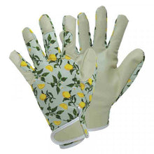 Load image into Gallery viewer, Smart Gardeners Sicilian Lemon Gloves Medium