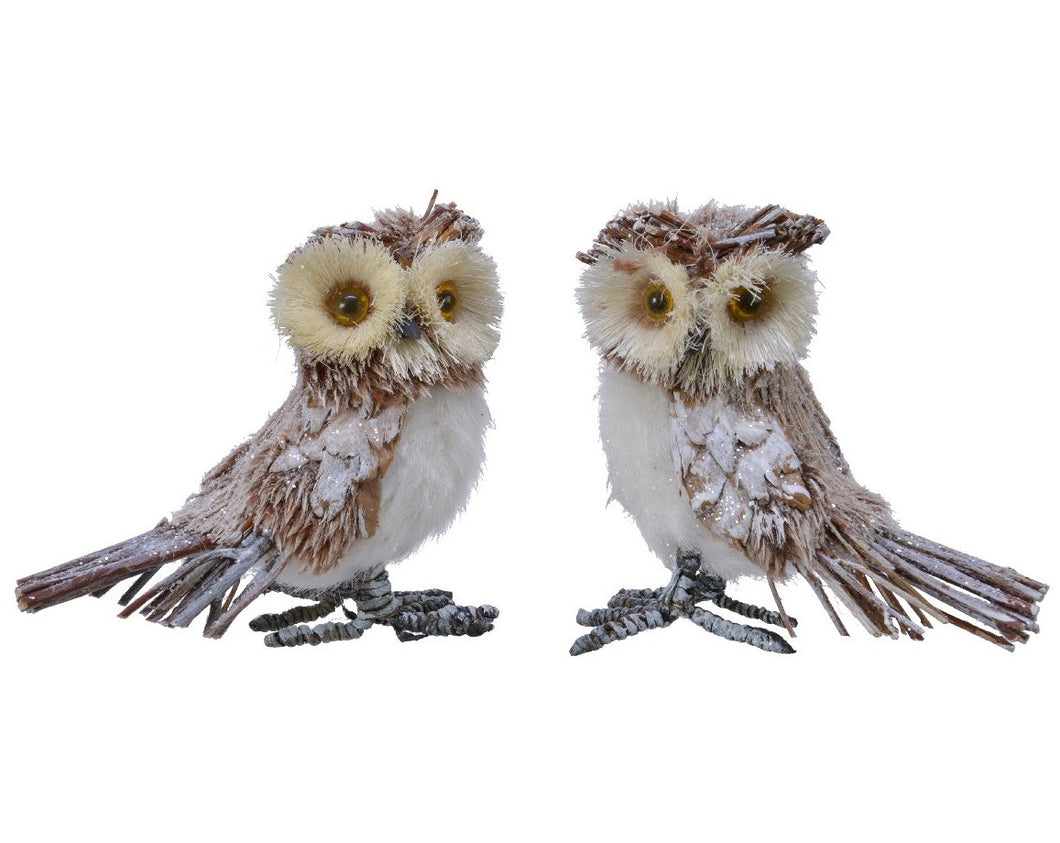 Plush Brown Owl 12cm