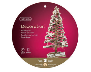 LED Snow Tree 50cm