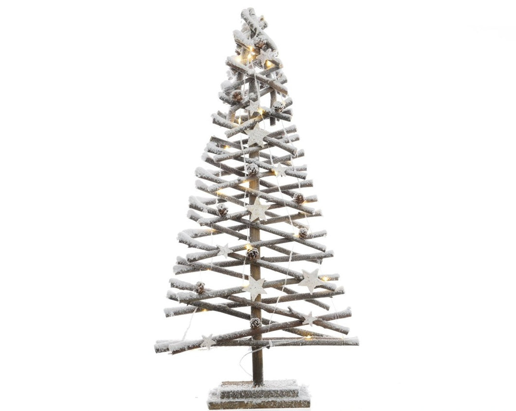 LED Snow Tree 80cm