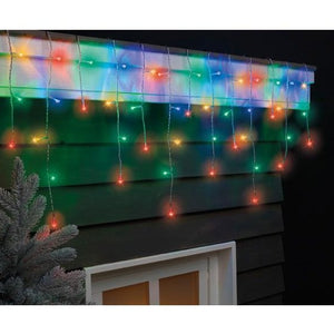 LED Icicle Twinkle 175 Multi