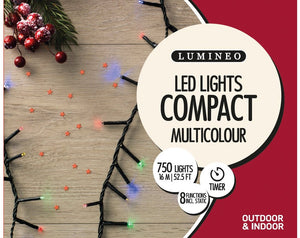 LED Compact Twinkle Green 750M