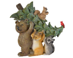 Animals Carrying Tree