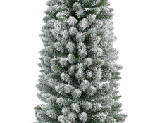 Load image into Gallery viewer, Snowy Pencil Pine Tree 210cm