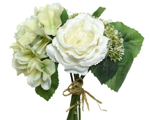 Flower Bouquet White